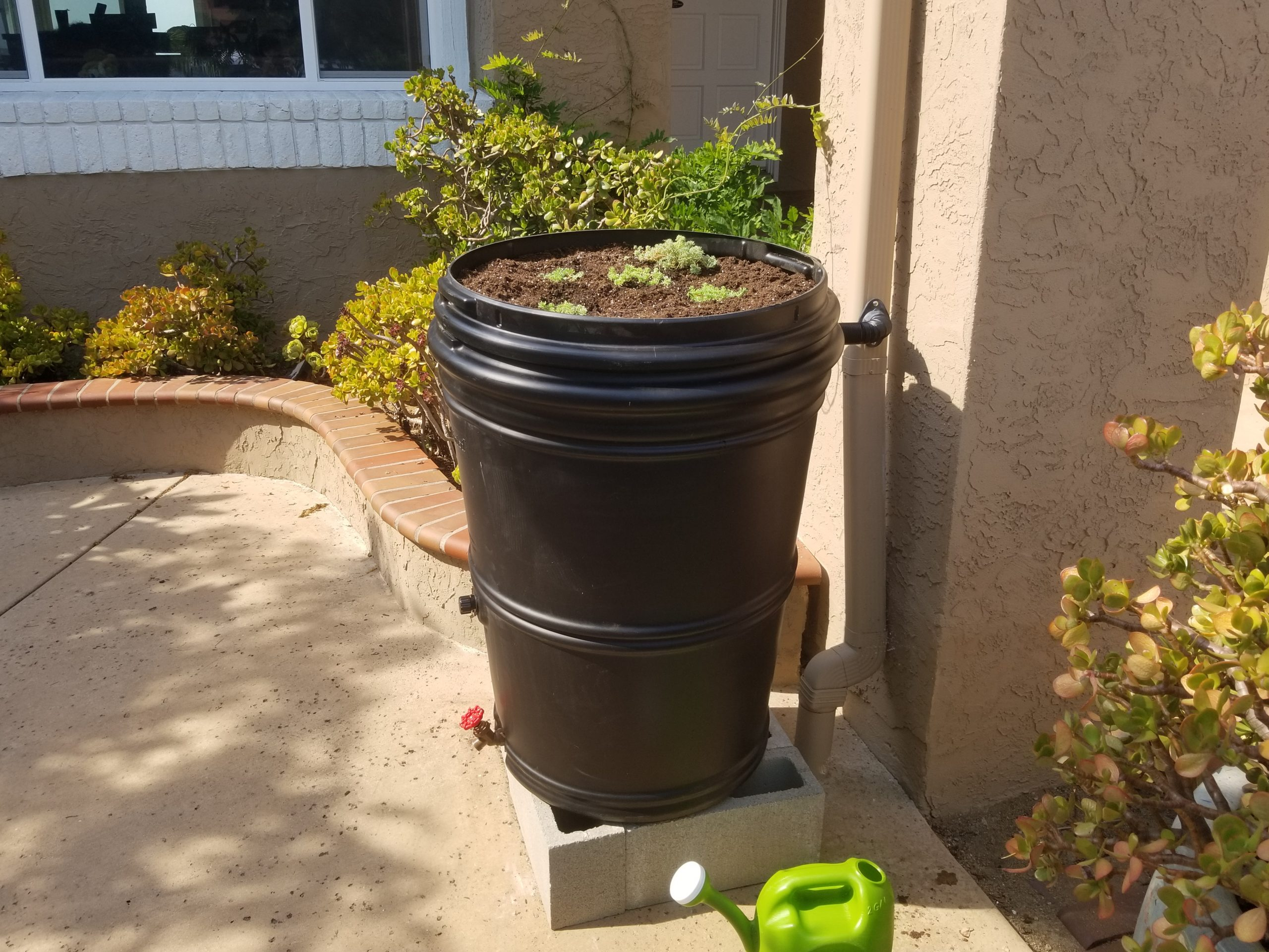 Earthminded 65 Gallon Rain Barrel